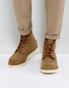 Оливковые замшевые ботинки Red Wing 6 Inch Classic - Бежевый