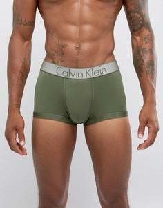 Боксеры-брифы из микрофибры Calvin Klein - Зеленый