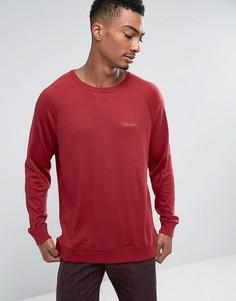 Лонгслив классического кроя Calvin Klein - Красный