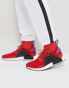 Красные зимние кроссовки adidas Originals NMD XR1 BZ0632 - Красный