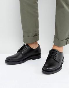 Черные кожаные туфли дерби Dead Vintage - Черный