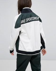 Зеленая спортивная куртка на молнии Nike Archive - Зеленый