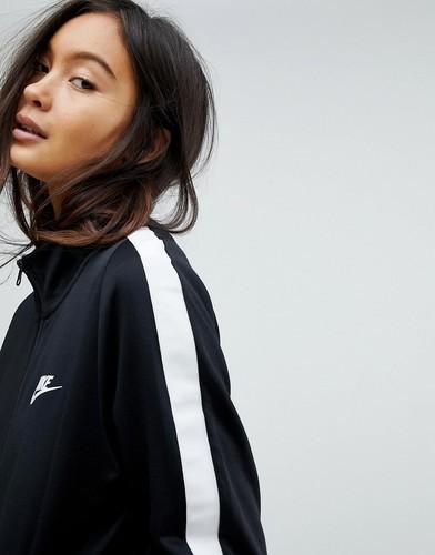Черная спортивная куртка Nike Classic - Черный