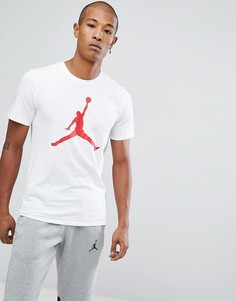 Белая футболка с логотипом Nike Jordan 908017-100 - Белый