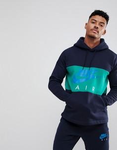 Темно-синий худи Nike Air 863758-451 - Темно-синий