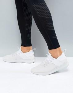 Белые кроссовки Nike Running Free Run CMTR 2017 880841-009 - Серый