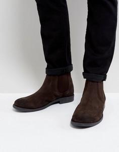 Ботинки челси с круглым носком Frank Wright - Коричневый