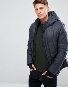 Дутая куртка с капюшоном-маской Jack & Jones Core - Серый