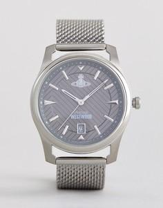 Серебристые часы Vivienne Westwood VV185GYSL - Серебряный