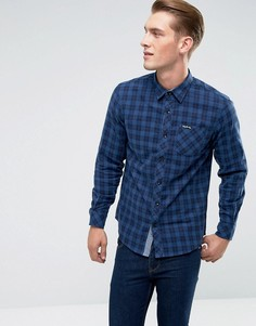 Фланелевая рубашка в клетку Tokyo Laundry - Синий