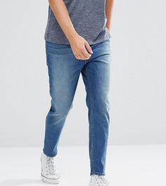 Синие суженные книзу джинсы ASOS TALL - Синий