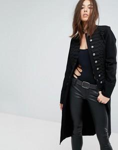 Куртка в стиле милитари Tripp NYC - Черный