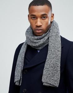 Серый шарф Jack & Jones DNA - Серый