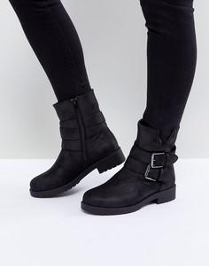 Байкерские ботинки Blink - Черный
