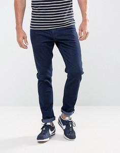 Выбеленные джинсы слим LDN DNM - Синий