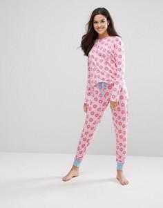 Пижама Chelsea Peers - Розовый