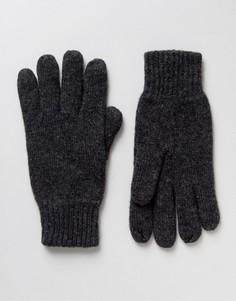 Шерстяные перчатки Selected Homme - Серый