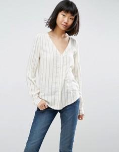 Блузка в полоску Ichi - Белый