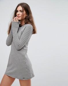 Трикотажное платье в полоску Pepe Jeans Edie - Серый