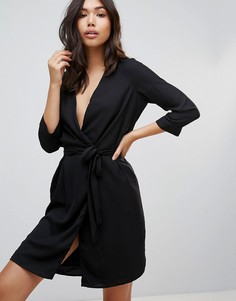 Платье с вышивкой Vero Moda - Черный
