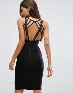 Платье миди Vesper - Черный