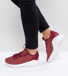 Бордовые кроссовки adidas Originals Tubular Doom - Красный