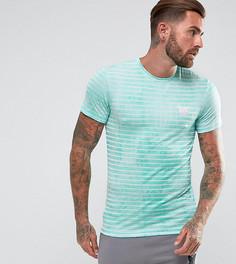 Обтягивающая футболка мятного цвета в полоску Good For Nothing - Зеленый