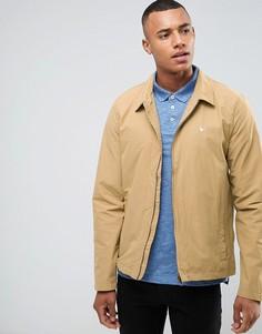 Легкая нейлоновая куртка Харрингтон песочного цвета Jack Wills Bodham - Бежевый