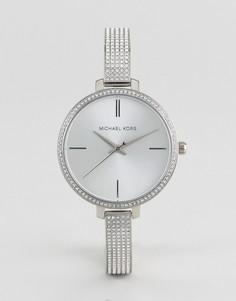 Серебристые часы Michael Kors MK3783 Jaryn - Серебряный