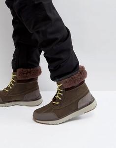 Кожаные непромокаемые ботинки UGG Eliasson Treadlite - Серый