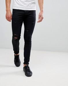 Черные джинсы скинни Sixth June - Черный
