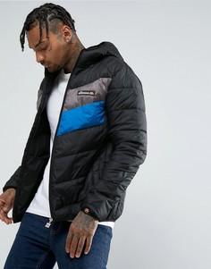 Куртка с шевронными вставками Ellesse - Черный