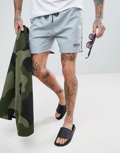 Серые шорты для плавания BOSS By Hugo Boss Starfish - Серый