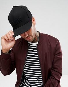 Замшевая кепка Mitchell & Ness - Черный