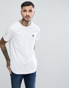 Белая трикотажная футболка Pretty Green - Белый
