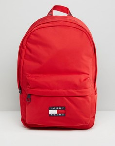 Рюкзак в стиле 90-х Tommy Jean Capsule - Красный