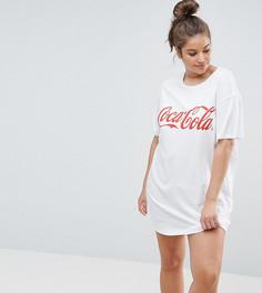Футболка для сна ASOS CURVE Coca-Cola - Красный