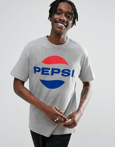 Серая футболка с логотипом Sweet SKTBS x Pepsi - Серый