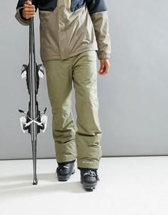 Горнолыжные брюки с подкладкой Omni Heat Columbia Bugaboo - Зеленый