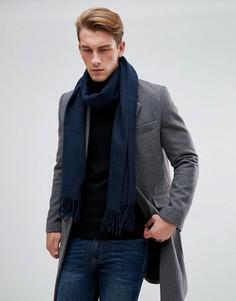 Черный шарф из двухцветной пряжи Esprit - Черный