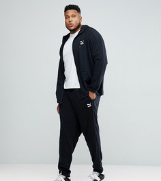 Черный спортивный костюм Puma PLUS эксклюзивно для ASOS - Черный