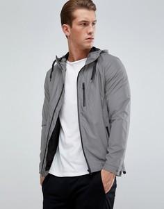 Куртка с капюшоном D-Struct - Серебряный