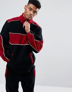 Черная флисовая спортивная куртка Jaded London - Черный