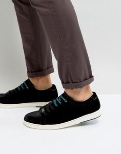 Бархатные кроссовки Ted Baker Lambrt - Черный