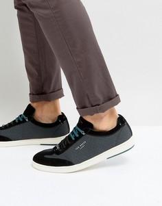 Кроссовки с геометрическим принтом Ted Baker Kiefer - Черный