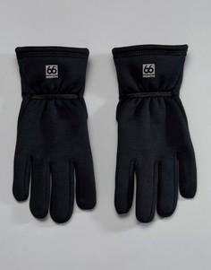 Черные перчатки 66o North Vik Windpro - Черный