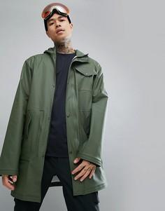 Зеленая водонепроницаемая куртка-дождевик 66o North - Зеленый