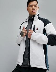 Белая куртка из искусственного меха 66o North Tindur Technical - Белый