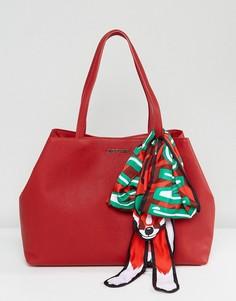 Сумка-шоппер Love Moschino - Красный