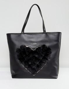 Сумка-шоппер Love Moschino - Черный